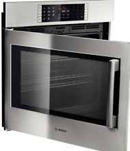 Bosch HBLP451LUC Benchmark Series 30  Single Electric Wall Oven in Stainless