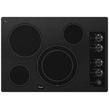 Whirlpool Gold G7CE3034XB00 30 in Electric Ceramic Cooktop Black