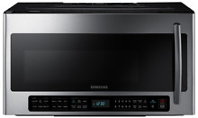 Samsung  ME21H706MQS 2 1 cu  ft  Over the Range Microwave Oven Stainless Steel