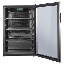Galanz 110 Can Beverage Center GLB36S  Stainless Door Frame