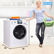 Washer Dryer Combo Combination Washing Machine Front Load Midea Stainless Steel