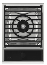 Wolf MM15TFS 15 Inch Transitional Multifunction Gas Cooktop 22 000 BTUs 1 Burner
