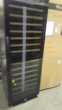 New Wine Enthusiast 166 bottle dual zone wine cooler chiller cellar