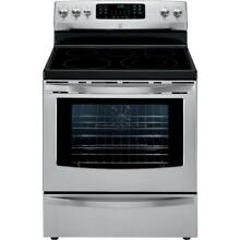 Kenmore 94203 5 7 cu  ft  Electric Range w  True Convection   Stainless Steel