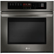 LG LWS3063BD 30  Black Stainless Single Electric Wall Oven