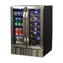 NewAir 18 Bottle  52 Can  Dual Zone Wine and Beverage Cooler