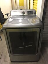 Samsung Washer and Dryer Set  Gray Used  5 2cu ft washer and 7 2 cu ft dryer