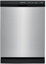 Frigidaire FFCD2413US Full Console Dishwasher   Stainless Steel w  3 Spray Arms