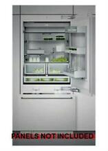Gaggenau 30  Ice Maker Custom Integrated Bottom Freezer Refrigerator RB472701