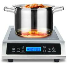 Duxtop 961LS Professional Portable Induction Cooktop Silver