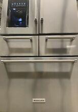 KitchenAid KRMF706ESS 36  Stainless French Door Refrigerator  37241 MAD