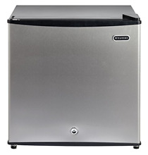 Whynter CUF 112SS 1 1 cu  ft  Energy Star Upright Lock Stainless Steel Freezer
