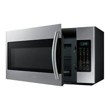 Samsung 1 8 cubic foot Over the Range Microwave Oven Stainless Steel