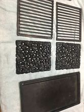 Jenn Air A105 Rock Plates  Griddle  Grille  and TWo Temperature Element Lot