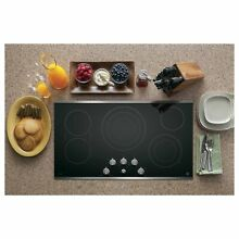 GE Profile 36 inch Electric Cooktop