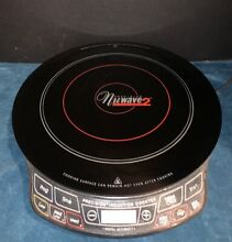 NUWAVE 2 HEALTHWARE PRECISION INDUCTION COOKTOP PORTABLE STOVE