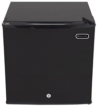Whynter CUF 110B Energy Star 1 1 Cubic Feet Upright Freezer with Lock  Black