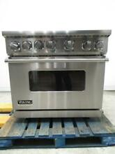 Viking Professional 7 Series 36 Inch Pro Style Dual Fuel Range VDR7364GSS