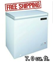 Thomson 7 0 cu ft Chest Freezer Deep Freeze Bulk Food Storage Great Value