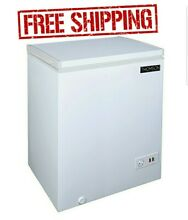 Thomson 5 0 cu  ft  Chest Freezer Deep Freeze Bulk Food Storage Great Value