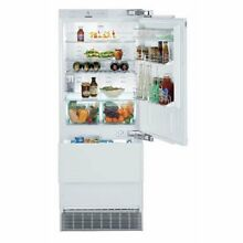 Liebherr 30 inch Fully Integrated Refrigerator Freezer w  Icemaker
