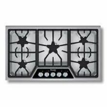 Thermador Masterpiece Deluxe Series 36  5 Star Burners Gas Cooktop SGSX365FS