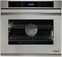 Dacor DTO130FS Distinctive 30  Single Electric Wall Oven Flush Handle Stainless