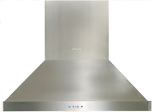 Dacor DHI361 Heritage 36 Inch Island Mount Range Hood Stainless Steel 4 Speeds