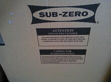 SUB ZERO REPLACEMENT DOOR  7014617 Stainless Steel UC 24 RO PH LH BRAND NEW DOOR