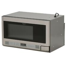 Sharp R 1214 TY 24  inch 1100 Watt Over the Counter Microwave Stainless Warranty