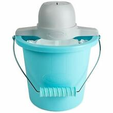 Electric Motor Portable 4 Quart Old Fashioned Ice Cream Maker with Carry Handle
