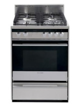Fisher   Paykel OR24SDMBGX2 24  Pro Style Gas Range w Wok Burner 4 Burners