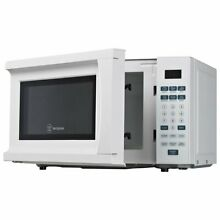 Westinghouse White 0 7 cubic foot Microwave