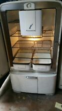 ANTIQUE VINTAGE RETRO OLD KELVINATOR FRIDGE GLASS MEAT DISH REFRIGERATOR RARE