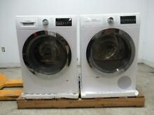 Bosch 800 Series WHT Energy Star Chrome Washer   Dryer WAT28402UC   WTG86402UC