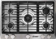 Dacor RNCT365GSNG 36  Gas 5 Burner Cooktop in Stainless Steel 5 Sealed Burners