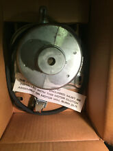 Wh49x271 two speed GE washer motor  clutch belt  solenoid assembly