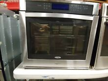 Perfect open box Whirlpool built in 30  wall oven Stainless Steel WOS97ES0ES