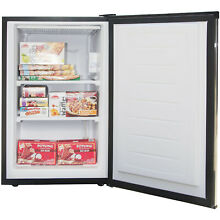 MINI FREEZER MAGIC CHEF 3 CU FT UPRIGHT FREEZER WITH STAINLESS STEEL DOOR