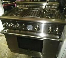 THERMADOR 36  GAS STOVE  MODEL  PRG364EDG 05
