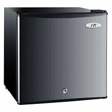 SPT Energy Star 1 1 Cubic Foot Stainless Steel Upright Freezer