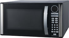 1 3 cu Ft Microwave Oven 1000 W Counter Top Easy Controls Black Stainless Steel