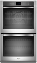 Whirlpool WOD93EC0AS 30 Inch Double Electric Wall Oven with True Convection SxS