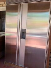 SUB ZERO MODEL 690 REFRIGERATOR FREEZER STAINLESS STEEL PANEL SUPER CLEAN