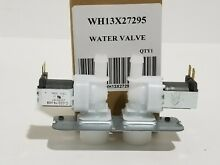 WH13X27295 GE WASHER WATER VALVE  NEW PART
