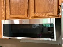 Whirlpool 1 1 Cu Ft  over The Range Low Profile Microwave Hood Combination