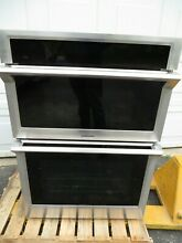 Samsung NQ70M6650DS 30  Stainless Microwave Oven Combo Wall Oven Self cleaning