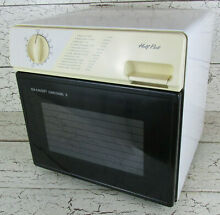 Sharp Carousel Half Pint Mini Microwave Oven Marine RV Home Dorm Camp R 1M50B