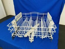 Oem  WP8539242 KENMORE KITCHENAID WHIRLPOOL DISHWASHER LOWER RACK  w  basket