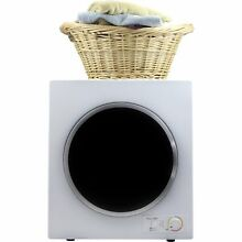3 5 cu ft  Compact Electric Dryer with high speed turbo fan  Wrinkle guard  Auto